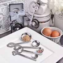 """Keys To Love Beyond Measure"" Measuring Spoon Favours"